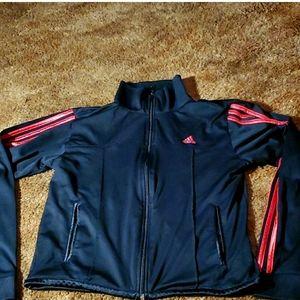 ADIDAS track Jacket Crop Large
